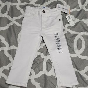 NWT White Old Navy Jeans